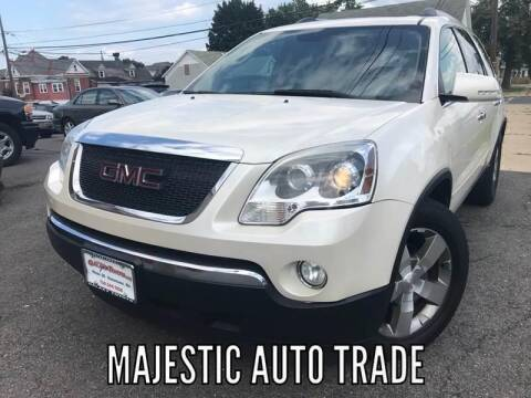 2011 GMC Acadia for sale at Majestic Auto Trade in Easton PA