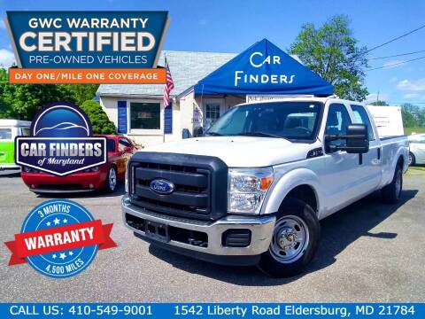 2013 Ford F-250 Super Duty for sale at CAR FINDERS OF MARYLAND LLC - Certified Cars in Eldersburg MD