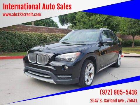 2014 BMW X1 for sale at International Auto Sales in Garland TX