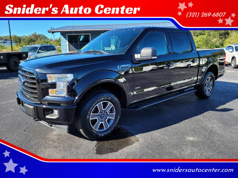 2017 Ford F-150 for sale at Snider's Auto Center in Titusville FL