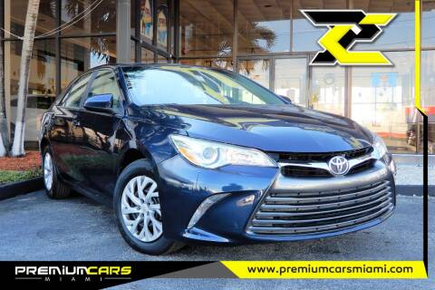2015 Toyota Camry for sale at Premium Cars of Miami in Miami FL