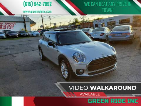 2019 MINI Clubman for sale at Green Ride Inc in Nashville TN