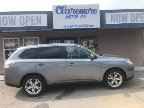 2014 Mitsubishi Outlander for sale at Claremore Motor Company in Claremore OK