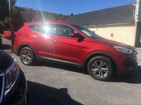 2016 Hyundai Santa Fe Sport for sale at K B Motors in Clearfield PA
