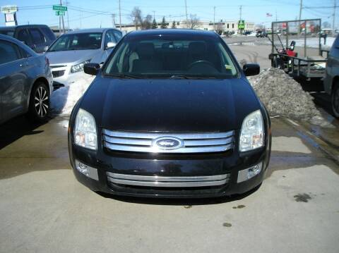 2007 Ford Fusion for sale at ZJ's Custom Auto Inc. in Roseville MI