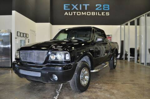 2002 Ford Ranger for sale at Exit 28 Auto Center LLC in Cornelius NC