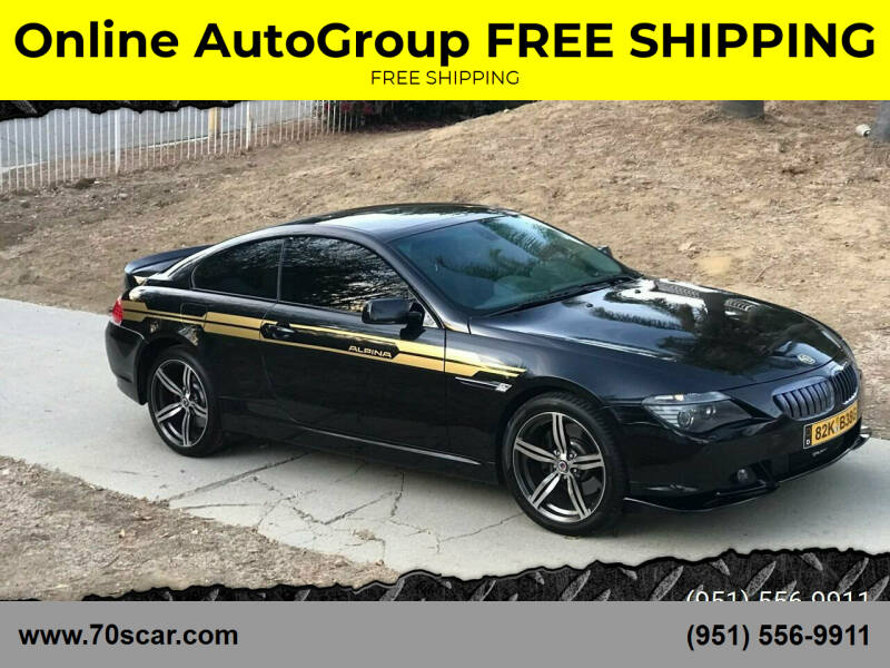 2005 BMW M6 for sale at Online AutoGroup FREE SHIPPING in Riverside CA