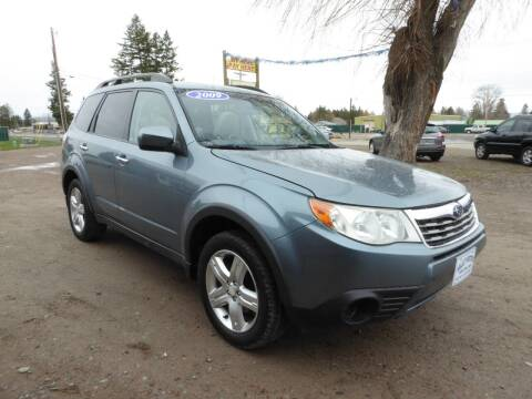 2009 Subaru Forester for sale at VALLEY MOTORS in Kalispell MT
