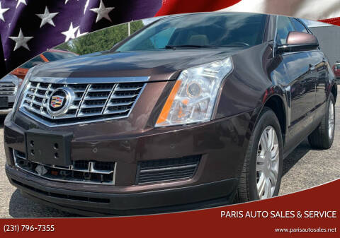 2015 Cadillac SRX for sale at Paris Auto Sales & Service in Big Rapids MI