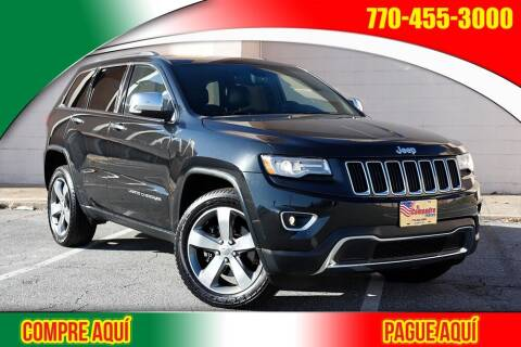 2014 Jeep Grand Cherokee for sale at El Compadre Trucks in Doraville GA