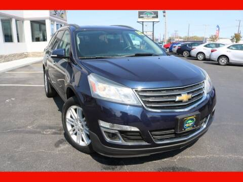 2015 Chevrolet Traverse for sale at AUTO POINT USED CARS in Rosedale MD
