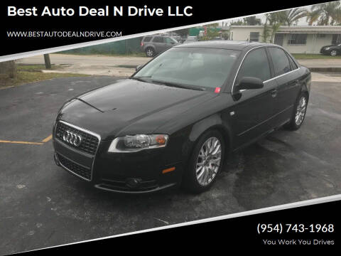 2008 Audi A4 for sale at Best Auto Deal N Drive in Hollywood FL