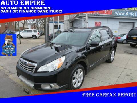 2011 Subaru Outback for sale at Auto Empire in Brooklyn NY