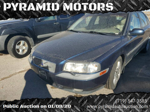 2000 Volvo S80 for sale at PYRAMID MOTORS - Pueblo Lot in Pueblo CO