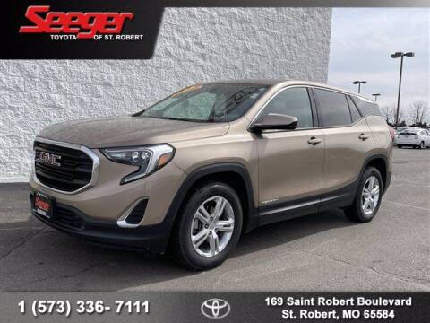 2018 GMC Terrain for sale at SEEGER TOYOTA OF ST ROBERT in St Robert MO