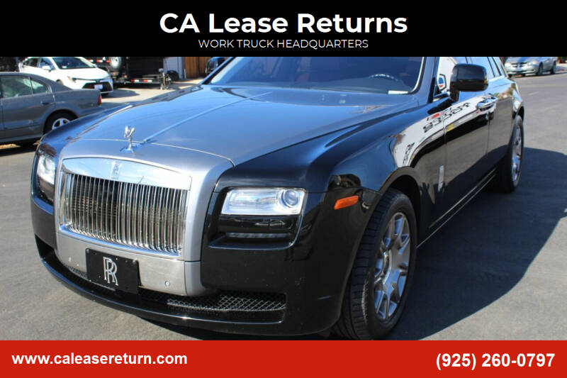 2010 Rolls-Royce Ghost for sale at CA Lease Returns in Livermore CA