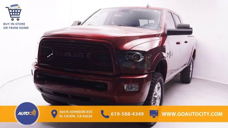 2018 RAM Ram Pickup 3500 for sale in El Cajon, CA