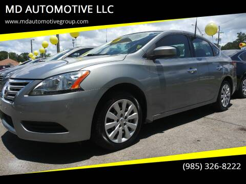 2014 Nissan Sentra for sale at MD AUTOMOTIVE LLC in Slidell LA