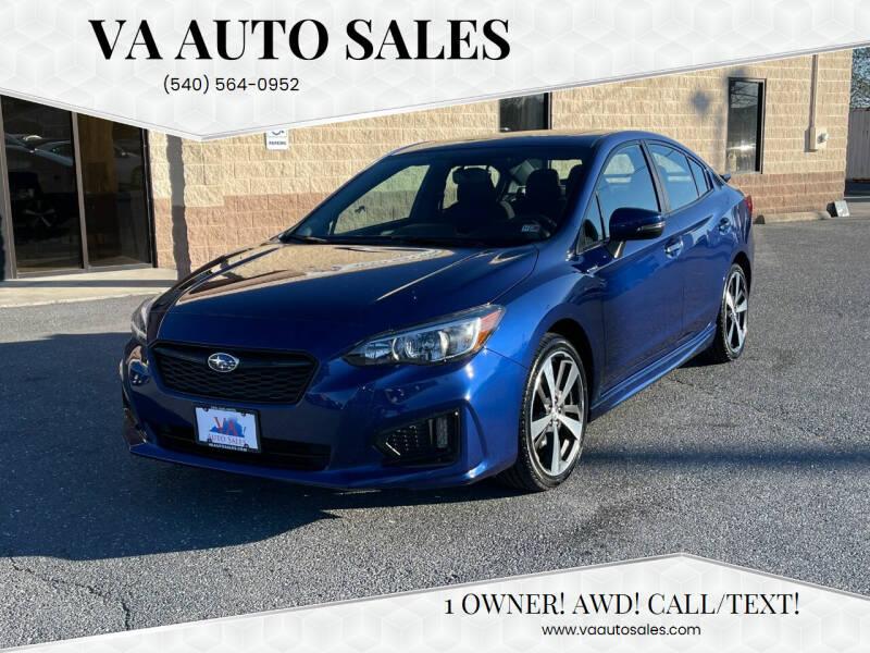 2018 Subaru Impreza for sale at Va Auto Sales in Harrisonburg VA