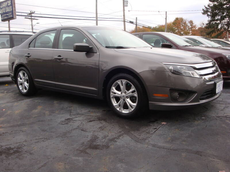 2012 Ford Fusion for sale at Jay's Auto Sales Inc in Wadsworth OH