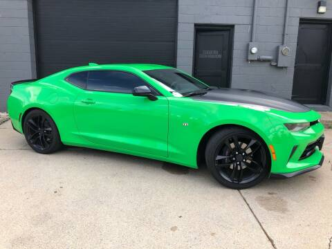 2017 Chevrolet Camaro for sale at Adrenaline Motorsports Inc. in Saginaw MI
