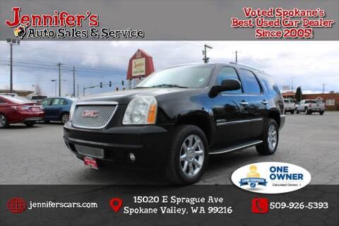 2013 GMC Yukon for sale at Jennifer's Auto Sales in Spokane Valley WA