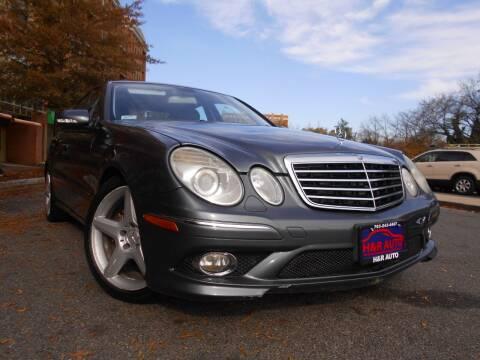 2009 Mercedes-Benz E-Class for sale at H & R Auto in Arlington VA
