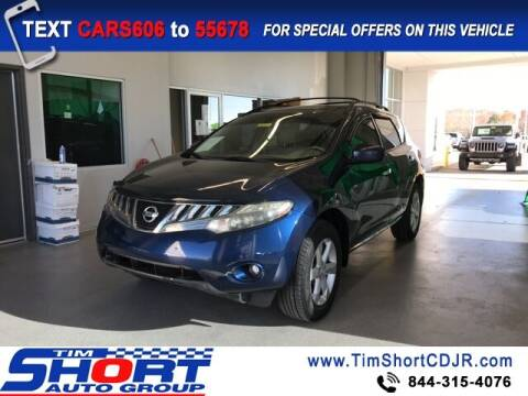 2009 Nissan Murano for sale at Tim Short Chrysler in Morehead KY