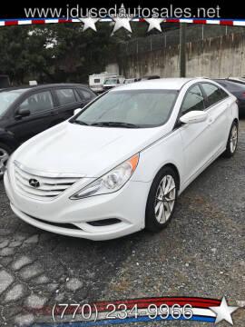 2013 Hyundai Sonata for sale at J D USED AUTO SALES INC in Doraville GA