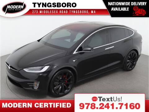 2018 Tesla Model X for sale at Modern Auto Sales in Tyngsboro MA