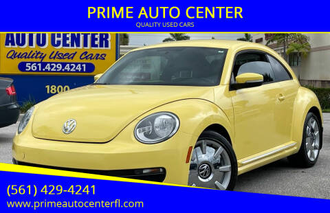 2012 Volkswagen Beetle for sale at PRIME AUTO CENTER in Palm Springs FL
