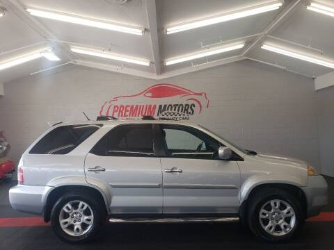 2004 Acura MDX for sale at Premium Motors in Villa Park IL