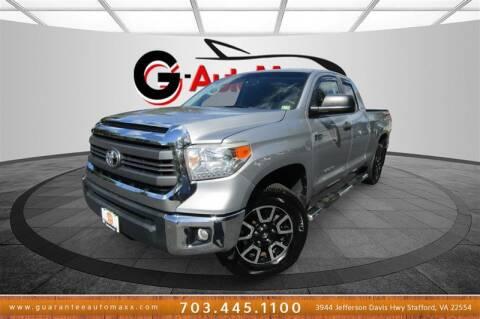 2015 Toyota Tundra for sale at Guarantee Automaxx in Stafford VA