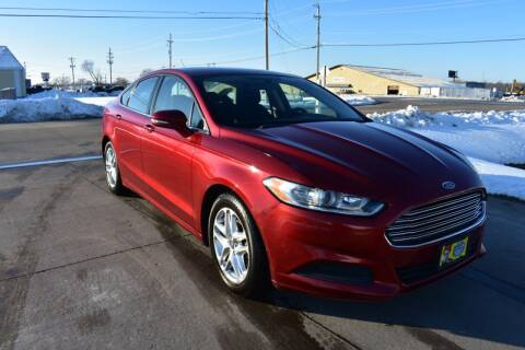 2013 Ford Fusion for sale at QUAD CITIES AUTO SALES in Milan IL