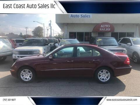 2004 Mercedes-Benz E-Class for sale at East Coast Auto Sales llc in Virginia Beach VA