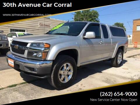 2012 Chevrolet Colorado for sale at 30th Avenue Car Corral in Kenosha WI