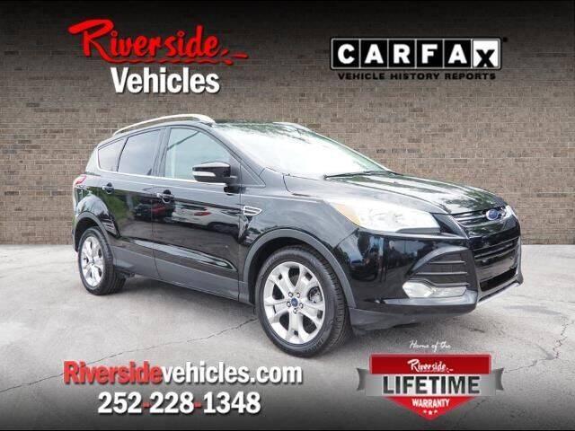 2016 Ford Escape for sale at Riverside Mitsubishi(New Bern Auto Mart) in New Bern NC