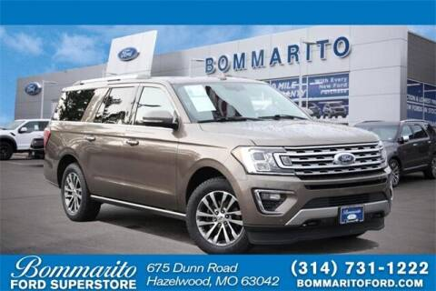 2018 Ford Expedition MAX for sale at NICK FARACE AT BOMMARITO FORD in Hazelwood MO