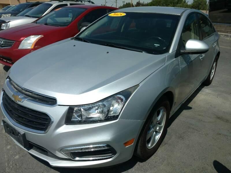 2015 Chevrolet Cruze for sale at Gandiaga Motors in Jerome ID