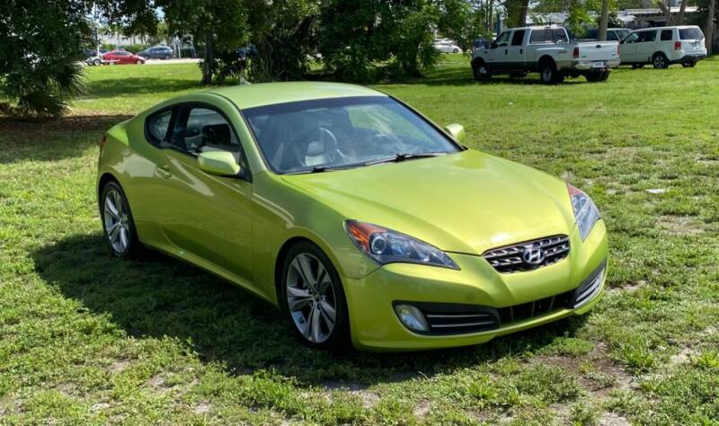 2010 Hyundai Genesis Coupe for sale at FINE AUTO XCHANGE in Oakland Park FL
