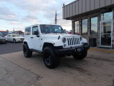 2012 Jeep Wrangler for sale at Preferred Motor Cars of New Jersey in Keyport NJ