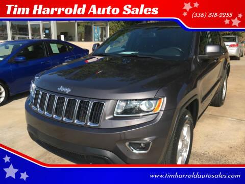 2015 Jeep Grand Cherokee for sale at Tim Harrold Auto Sales in Wilkesboro NC