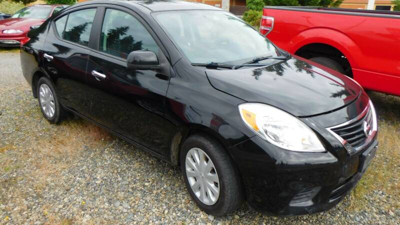 2013 Nissan Versa for sale at M & M Auto Sales LLc in Olympia WA
