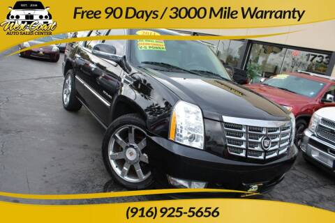 2011 Cadillac Escalade for sale at West Coast Auto Sales Center in Sacramento CA
