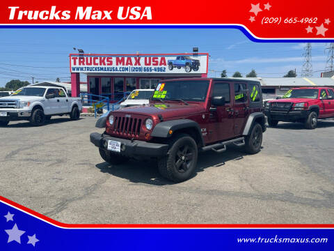 2009 Jeep Wrangler Unlimited for sale at Trucks Max USA in Manteca CA