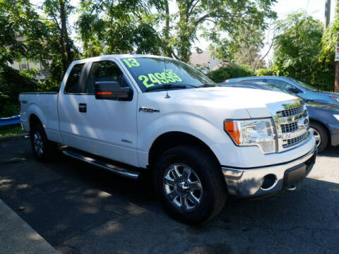 2013 Ford F-150 for sale at M & R Auto Sales INC. in North Plainfield NJ
