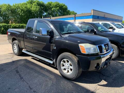 2004 Nissan Titan for sale at BEAR CREEK AUTO SALES in Rochester MN