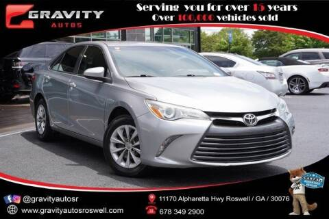 2015 Toyota Camry for sale at Gravity Autos Roswell in Roswell GA
