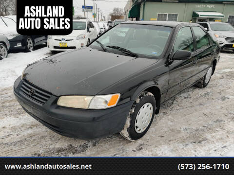 1999 Toyota Camry for sale at ASHLAND AUTO SALES in Columbia MO
