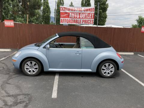 2010 Volkswagen New Beetle Convertible for sale at Flagstaff Auto Outlet in Flagstaff AZ